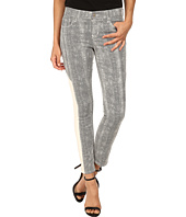 DKNY Jeans - Mesh Print Ave B Ultra Skinny Crop in White