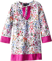 Oscar de la Renta Childrenswear - English Garden Cotton Caftan (Toddler/Little Kids/Big Kids)