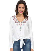 Karen Kane - Sonora Embroidered Tie Top