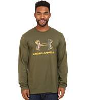 Under Armour - Camo Fill Logo Long Sleeve Tee