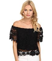 Nightcap - Caribbean Crochet Crop Blouse