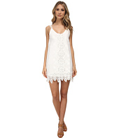 Nightcap - Embroidered Tank Dress w/ Slip