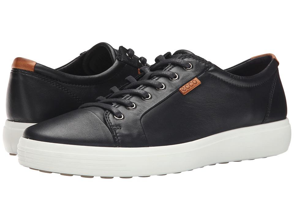 ECCO Soft 7 Sneaker (Black/Lion) Men