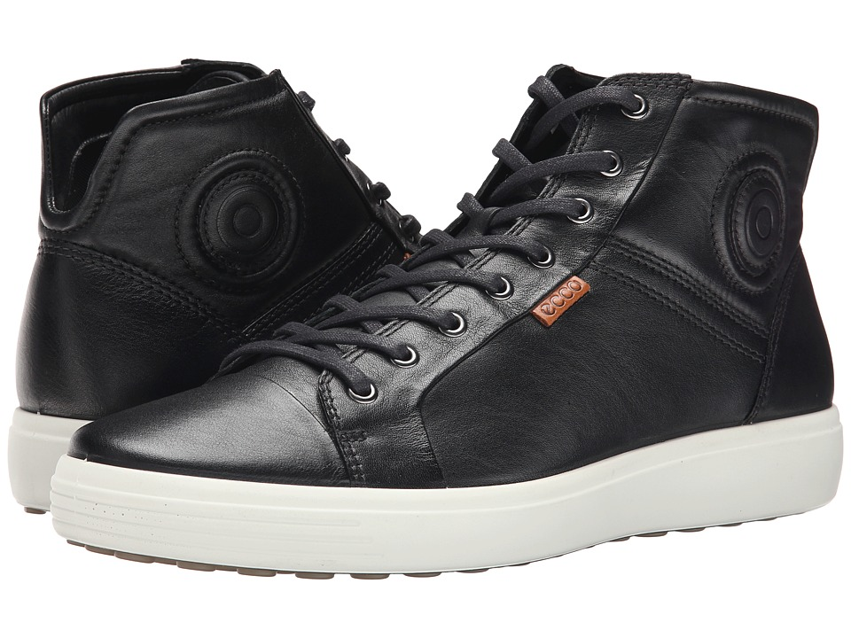 ECCO Soft VII Boot (Black/Lion) Men