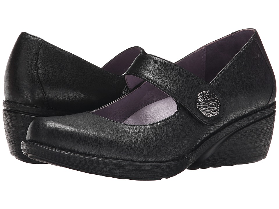 Dansko Adelle Black Nappa Womens Shoes
