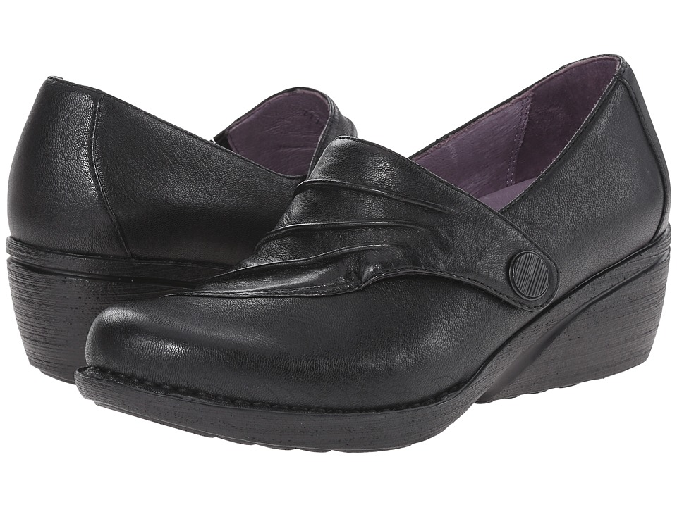 Dansko Aimee Black Nappa Womens Shoes