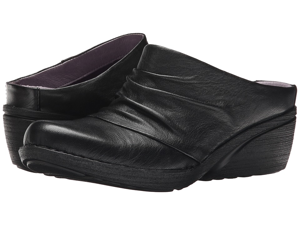 Dansko Amber Black Nappa Womens Shoes