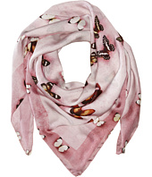 Givenchy - Butterflies Silk Satin Scarf