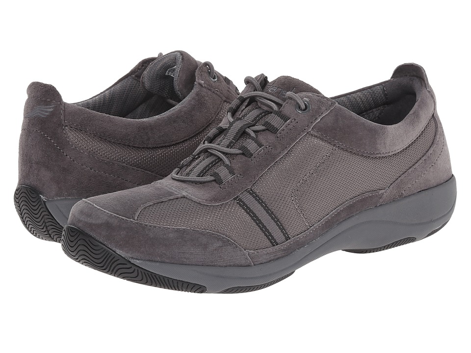 Dansko Helen Charcoal Suede Womens Shoes