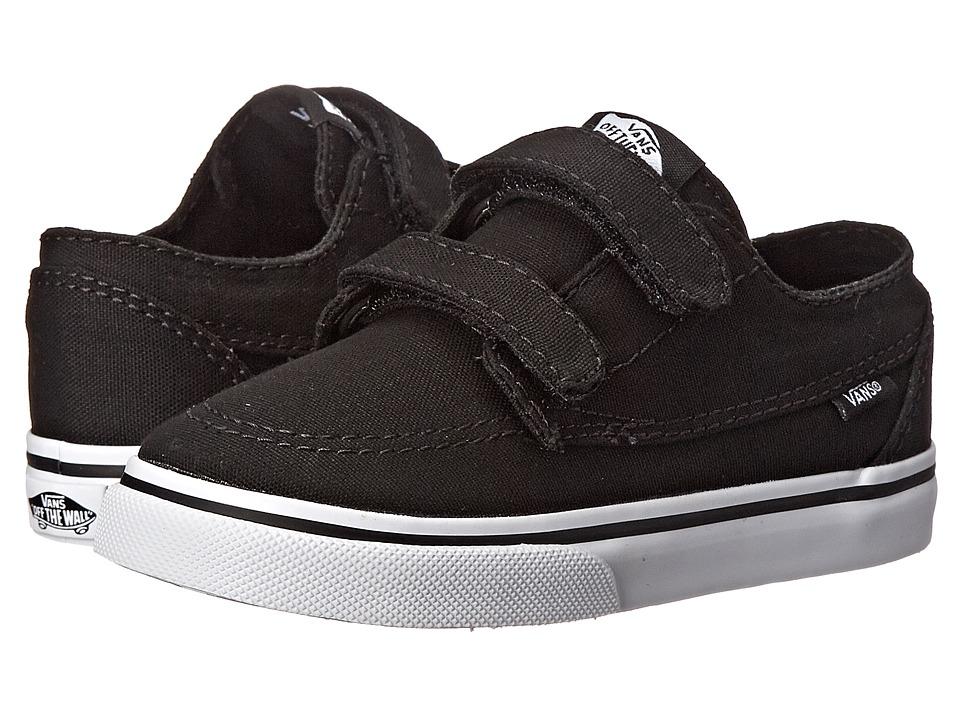 cde920c0b5f  35.00 More Details · Vans Kids - Brigata V (Toddler) (Black True White)  Boys Shoes