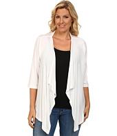 Karen Kane Plus - Plus Size 3/4 Sleeve Drape Jacket
