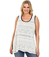 Karen Kane Plus - Plus Size Lace Tank Top