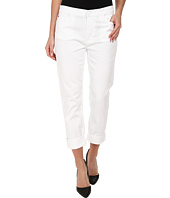 Hudson - Jude Slouch Skinny Crop in White 2