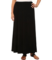 Karen Kane Plus - Plus Size High Slit Maxi Skirt