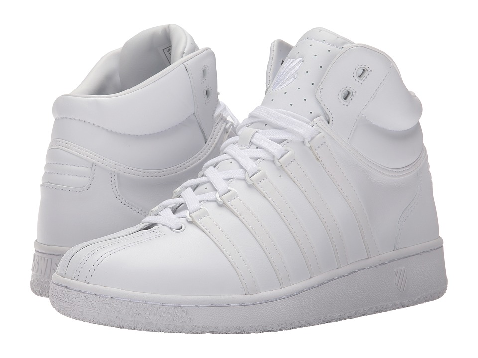 K-Swiss - Classic VN Mid (White/White) Mens Classic Shoes