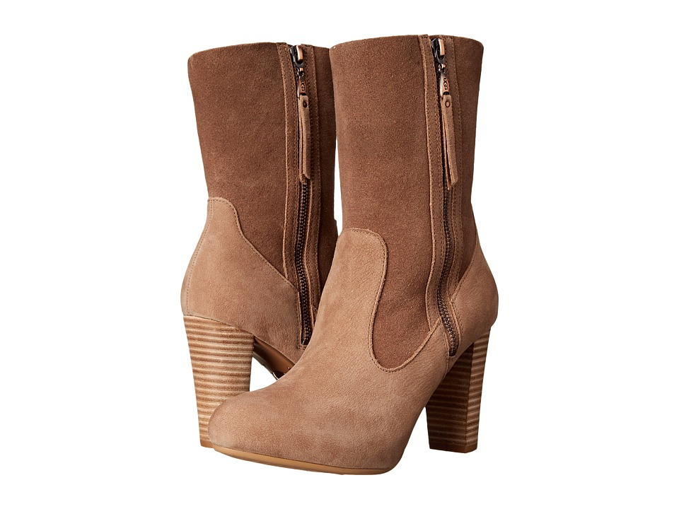 UGG Athena (Carmel Leather/Suede) Women