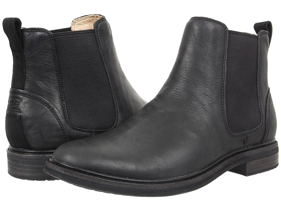 UGG - Leif (Black Leather) Men