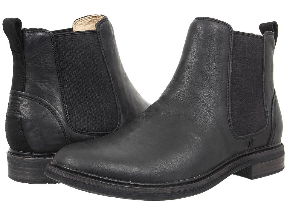 UGG - Leif (Black Leather) Men