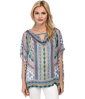 Hale Bob - Native Tones Butterfly Sleeve Tunic