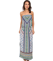 Hale Bob - Native Tones Tube Top Maxi w/ Smocked Hip Band