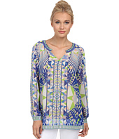 Hale Bob - Psychedelic City Long Sleeve Blouse