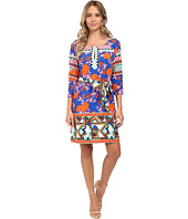 Hale Bob - Bold Blooms 3/4 Sleeve Shift Dress