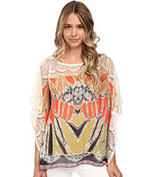 Hale Bob - Oasis In The City Butterfly Sleeve Blouse