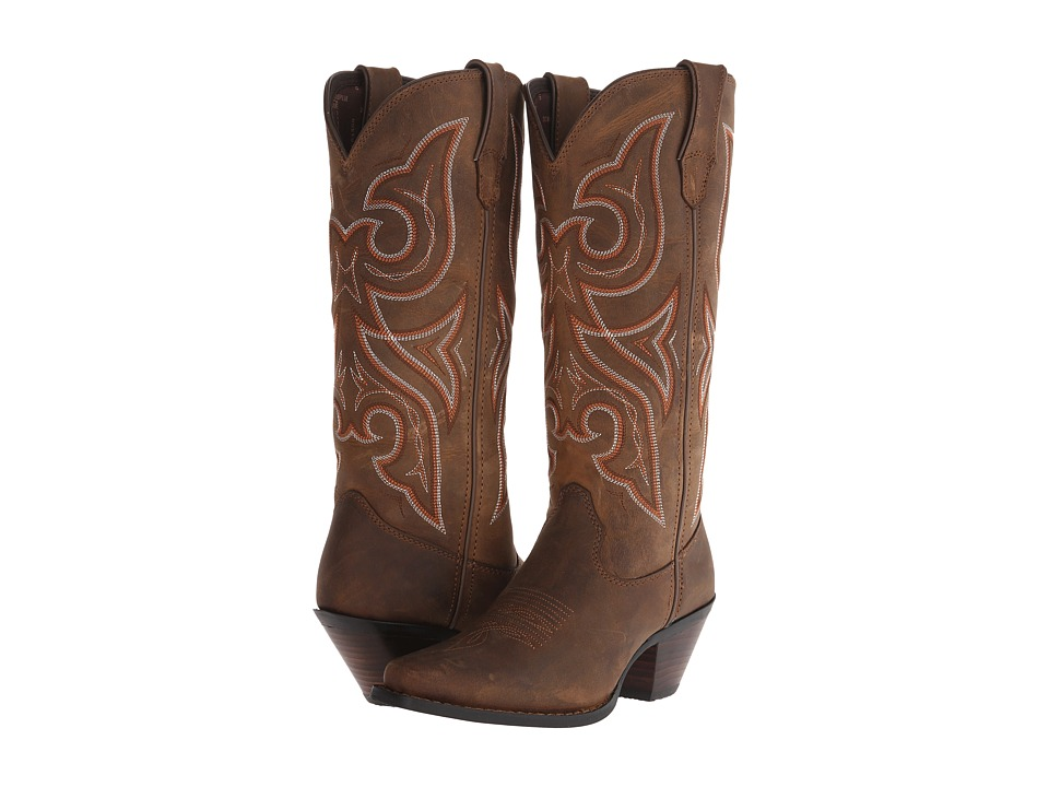 Durango - Jealous 13 (Distressed Brown) Cowboy Boots