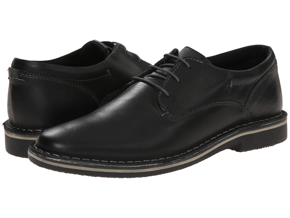Steve Madden Harpoon (Black Leather) Men