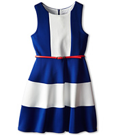 Us Angels - Scuba Tank w/ Color Block Full Skirt (Big Kids)