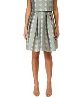 RED VALENTINO - Daisies Lurex Jacquard Skirt