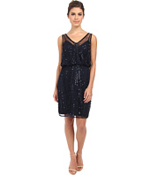 Adrianna Papell - Short Beaded Cocktail Dress