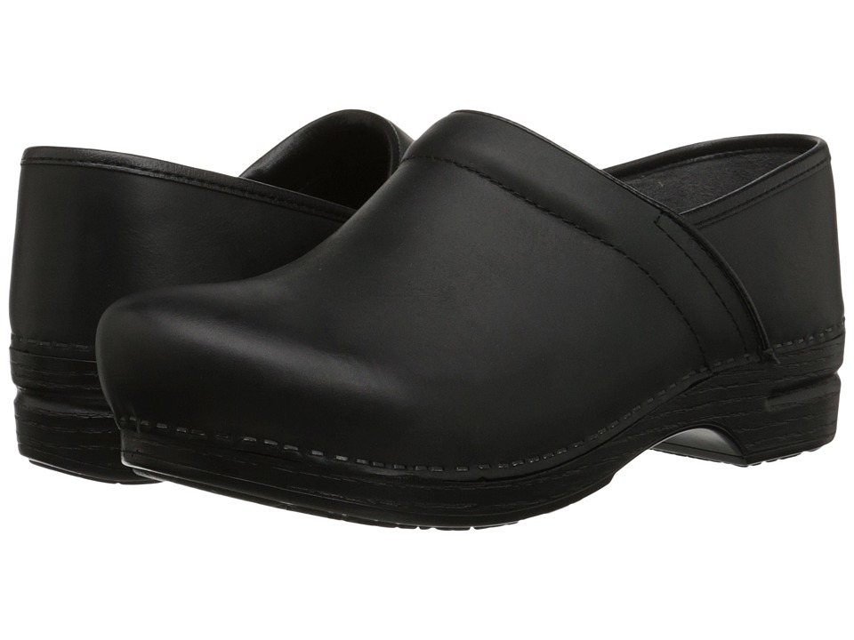 Dansko - Pro XP (Black Burnished Nubuck) Mens Clog Shoes