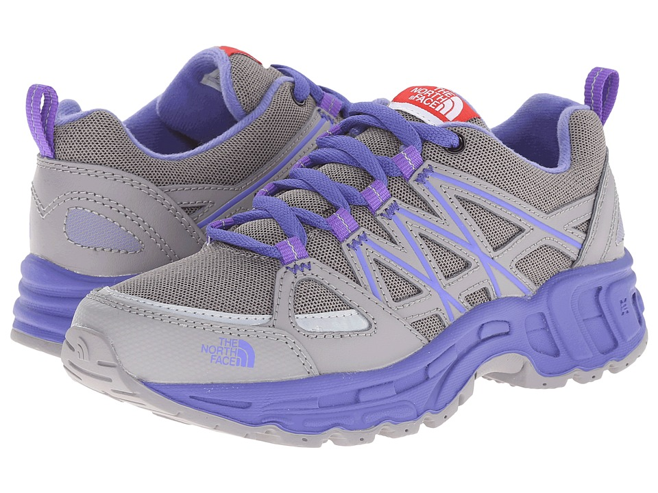 The North Face Kids - Betasso III (Toddler/Little Kid/Big Kid) (Q-Silver Grey/Blue Iris) Girls Shoes