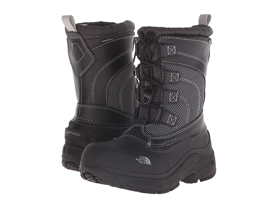 The North Face Kids - Alpenglow Lace (Toddler/Little Kid/Big Kid) (TNF Black/TNF Black) Boys Shoes