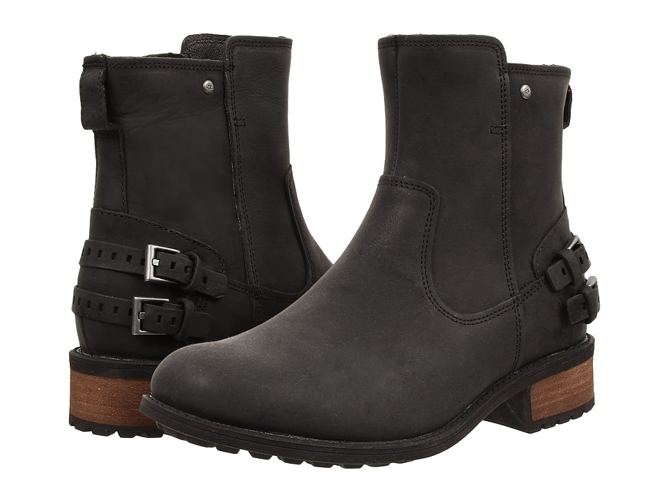 UGG - Orion (Black Leather) Women