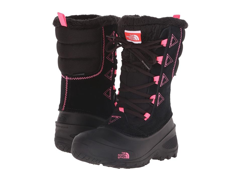 The North Face Kids - Shellista Lace II (Toddler/Little Kid/Big Kid) (TNF Black/Gem Pink) Girls Shoes