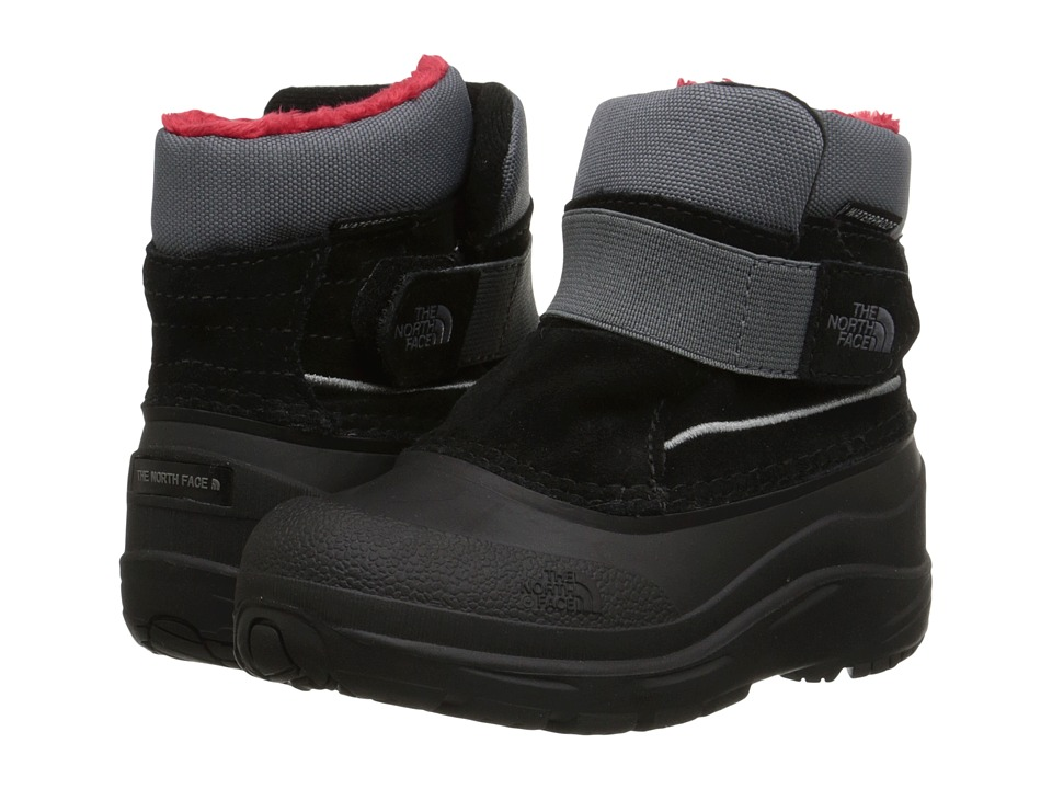 The North Face Kids - Alpenglow (Toddler) (TNF Black/Zinc Grey) Boys Shoes