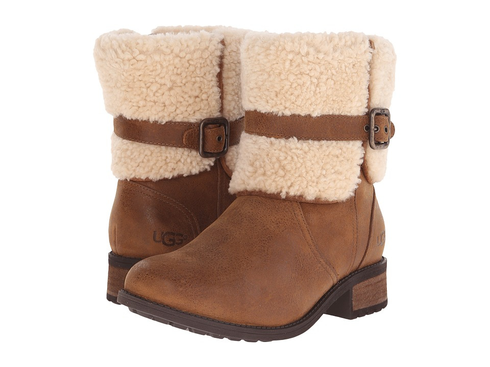 Ugg Blayre II (Chestnut Leather) Women's Boots