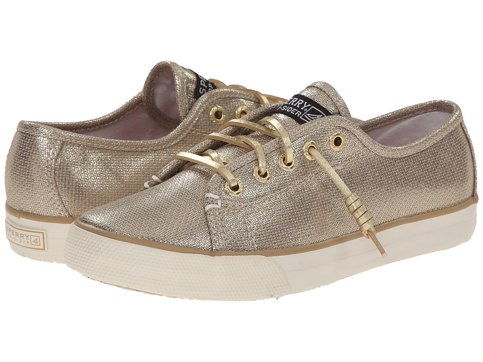 Sperry Top-Sider Kids - Seacoast (Little Kid/Big Kid) (Gold) Girls Shoes