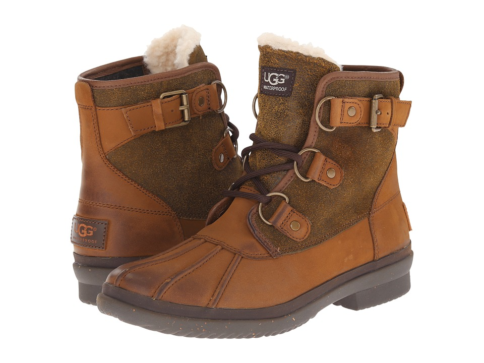 Ugg Cecile (Chestnut Leather) Women's Boots