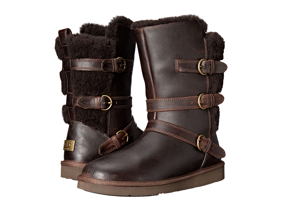 Ugg Becket (Chocolate Leather) Women's Boots
