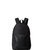 Armani Jeans - All-Over Eagle Logo Backpack