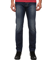 Armani Jeans - Slim Fit J28 Blue Wash Denim w/ Abrasion Detail