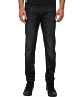 Armani Jeans - Slim Fit J26 Blue Wash Denim in Dark Cotton Twill Wash