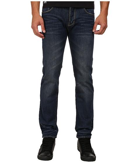 Armani Jeans Slim Fit J28 Blue Wash Denim in Right Hand Twill