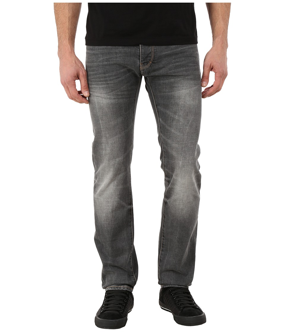 Armani Jeans Right Hand Cotton Twill Slim Fit Denim Grey Mens Jeans