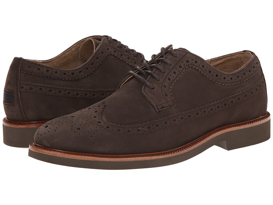 Polo Ralph Lauren - Torrington (Dark Brown Tumbled Nubuck) Men