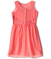 Us Angels - Tank Dress Lace Trim Baby Doll (Big Kids)
