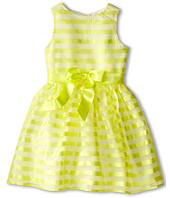 Us Angels - Stripe Organza Tank w/ Full Skirt (Big Kids)